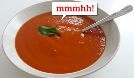 smartlife Rezeptidee: Schnelle Tomatensuppe