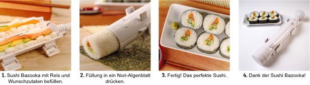 Sushi Bazooka_Ablauf