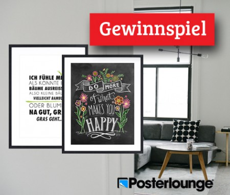 Gewinnen Sie ein Poster mit angesagtem Typo-Print!