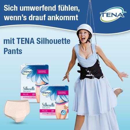 1.000 Testerinnen für TENA Silhouette Pants gesucht